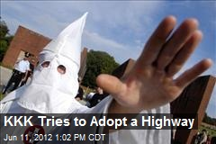 KKK Tries to Adopt a Highway
