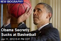Obama Secretly Sucks at Basketball