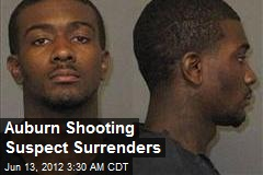 Auburn Shooting Suspect Surrenders
