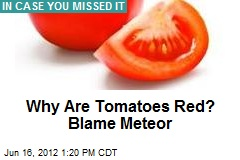 Red Tomatoes Explained: Blame Meteor