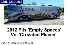 2012 Pits 'Empty Spaces' Vs 'Crowded Places'