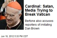 Media 'Imitating Dan Brown' Is After Vatican: Cardinal