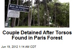 Couple Detained After Torsos Found in Paris Forest