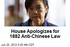 House Apologizes for 1882 Anti-Chinese Law