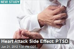 Heart Attack Side Effect: PTSD