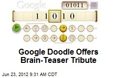 Google Doodle Offers Brain-Teaser Tribute