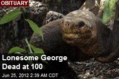 Lonesome George Dead at 100