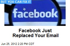 Facebook Just Replaced Your Email