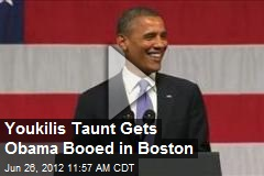 Youkilis Taunt Gets Obama Booed in Boston