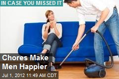 Chores Make Men Happier