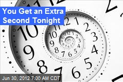 You Get an Extra Second Tomorrow Night