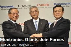 Electronics Giants Join Forces