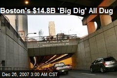 Boston's $14.8B 'Big Dig' All Dug