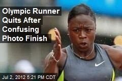 Olympic Runner Quits After Confusing Photo Finish