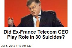 Ex-France Telecom Chief Probed Over Suicides