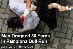 73-Year-Old Gored in Pamplona Bull Run
