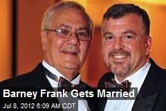 Barney Frank Gets Married