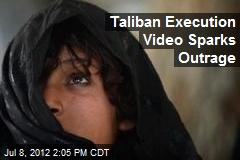 Taliban Execution Video Sparks Outrage