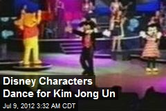 Disney Characters Dance for Kim Jong Un