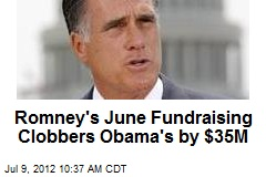 Romney Raises Whopping $106M, Clobbers Obama
