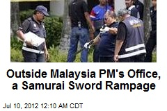 Cops Kill Swordsman at Malaysia PM's Office