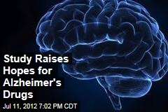 Study Raises Hopes for Alzheimer's Drugs