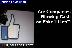 Are Companies Blowing Cash on Fake 'Likes'?
