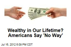 Wealthy, in Our Lifetime? Americans Say 'No Way'