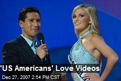 'US Americans' Love Videos