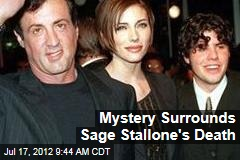 Mystery Surrounds Sage Stallone's Death