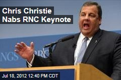 Convention's Keynote Speaker: Chris Christie