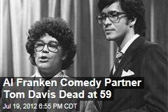 Al Franken Comedy Partner Tom Davis Dead at 59
