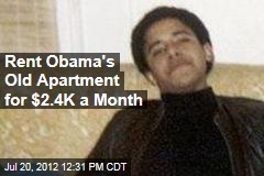 Rent Obama's Old Apartment for $2.4K a Month