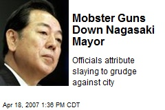Mobster Guns Down Nagasaki Mayor