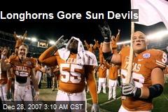 Longhorns Gore Sun Devils