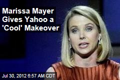 Marissa Mayer Gives Yahoo a 'Cool' Makeover