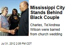 Mississippi City Stands Behind Black Couple