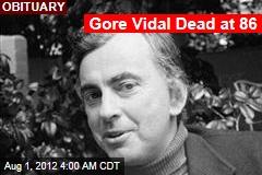Gore Vidal Dead at 86