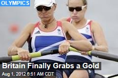 Britain Finally Grabs a Gold