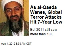 As al-Qaeda Wanes, Global Terror Attacks Hit 7-Year Low