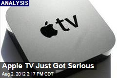 Apple TV Just Got Serious