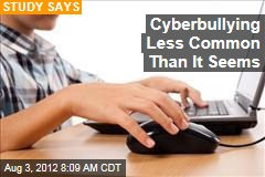 Cyberbullying Less Common Than It Seems