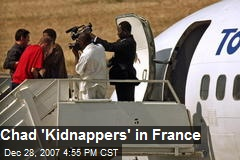 Chad 'Kidnappers' in France
