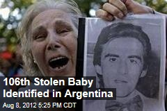 106th Stolen Baby Identified in Argentina
