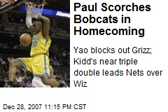 Paul Scorches Bobcats in Homecoming