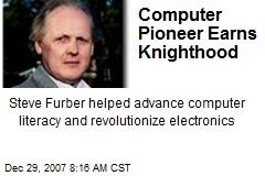 Computer Pioneer Earns Knighthood