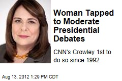 Woman Tapped to Moderate Presidential Debates