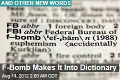 F-Bomb Makes It Into Dictionary