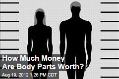 How Much Money Are Body Parts Worth?