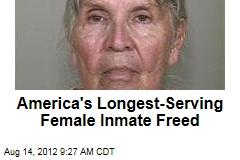 America's Longest-Serving Female Inmate Freed
